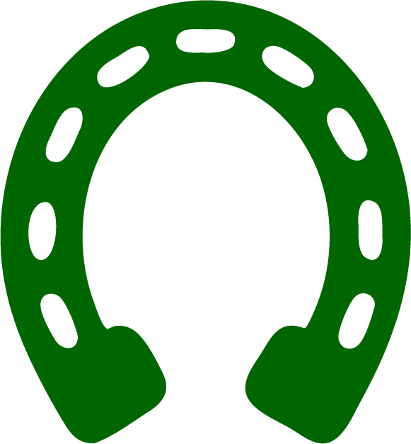 Image of horseshoe representing farrier care